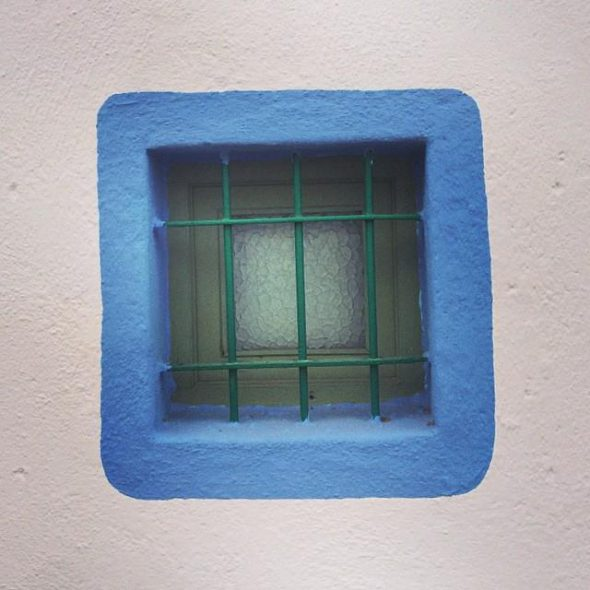 Azul según Cabo de Gata. Foto: Mani Ackerman.