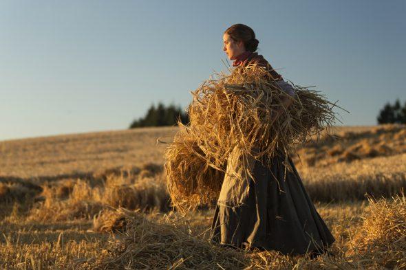 Un fotograma de la película 'Sunset song'