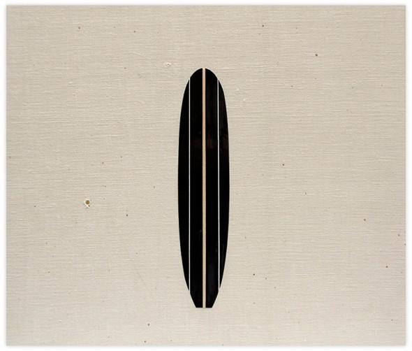 Una de las obras de Assaf Iglesias expuestas en la galería Mad is Mad.