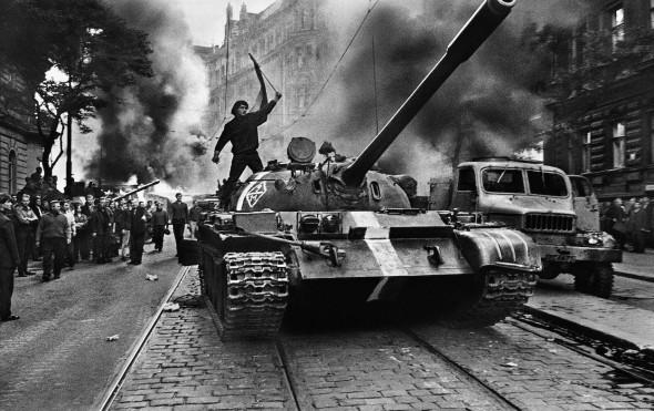 Praga. I968. Foto de Josef Koudelka.