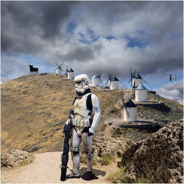 Star Wars en La Mancha.