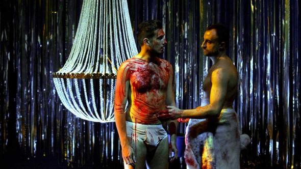 Un momento del montaje de 'El Público' de García Lorca en el Teatro de La Abadía.