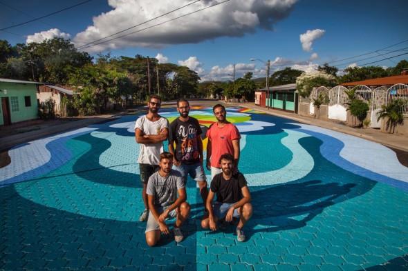 Boa Mistura en Somoto, Nicaragua.