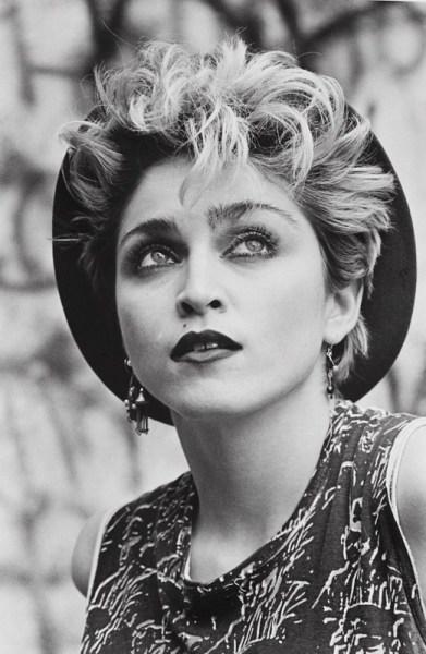 Madonna fotografiada por Peter Cunningham. © 2015 Peter Cunningham