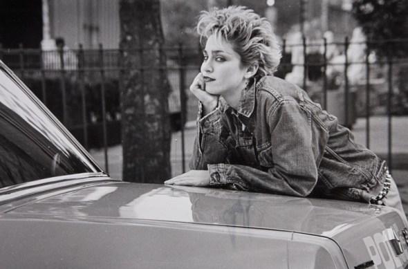 Madonna en 1982 fotografiada por Peter Cunningham. © 2015 Peter Cunningham.