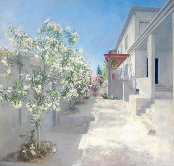 María Moreno. 'Jardín de Poniente 3'. Colección Privada.