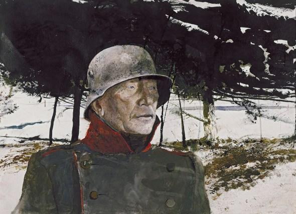 Andrew Wyeth. 'El Alemán, 1975'. Colección privada.