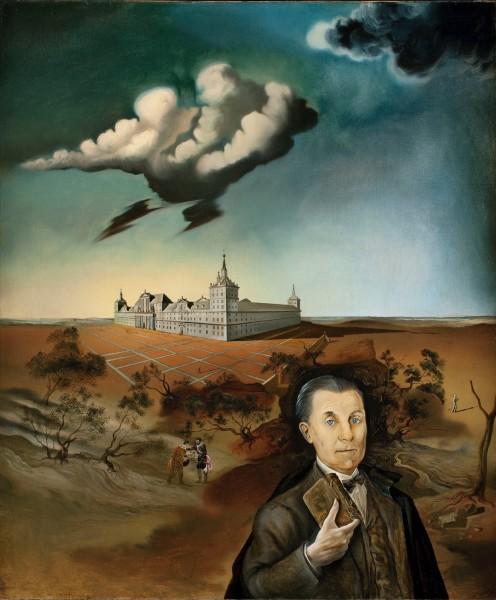 Salvador Dalí. 'Retrato del Embajador Juan Francisco Cárdenas', 1943. Óleo sobre lienzo. Colección Vadim Shulman. Cortesía Galerie Thomire.