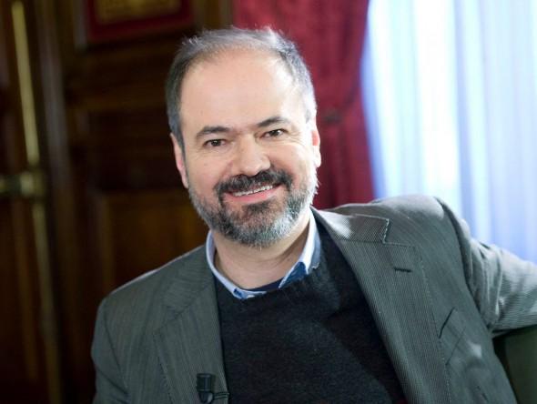 El escritor Juan Villoro.