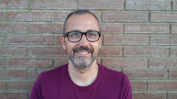 El escritor Kike Parra.