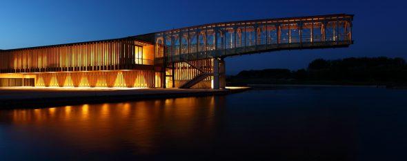 Ataria, el novedoso Centro de Interpretación de los Humedales de Salburua, es uno de los emblemas del Anillo Verde. Foto: VGreencapital2012