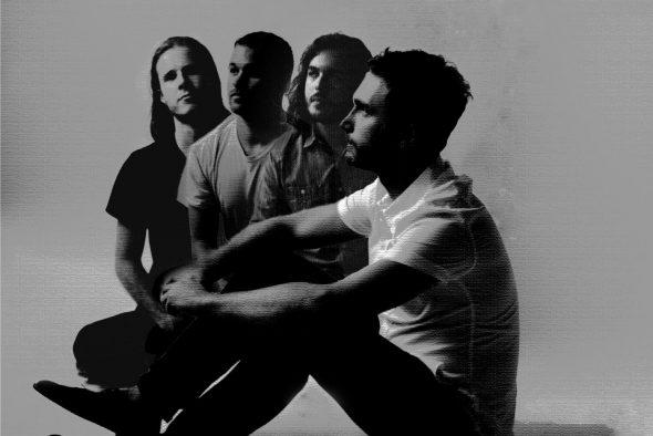Los cuatro componentes del grupo neoyorquino Howard.