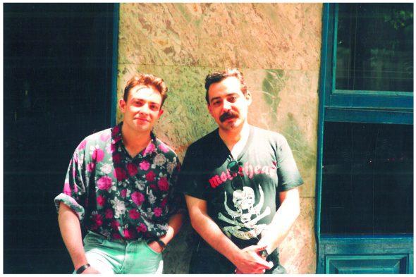 Juan Gracia Armendáriz y Francisco J. Satúe.