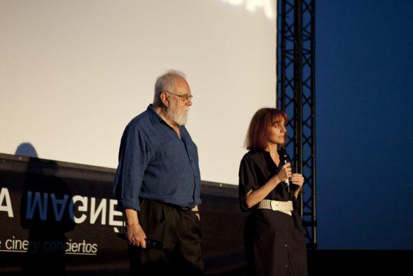 El director Gonzalo Suárez en La Casa Encendida.