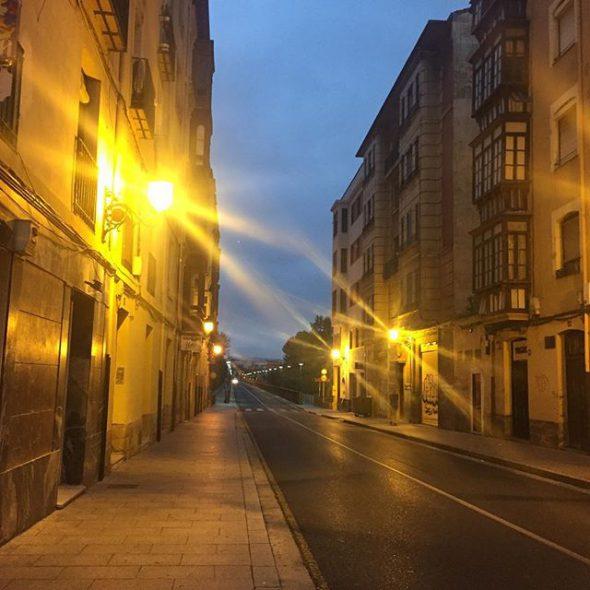 Esta preciosa y solitaria imagen de Logroño es de la usuaria de Instagram @Princess_familiar