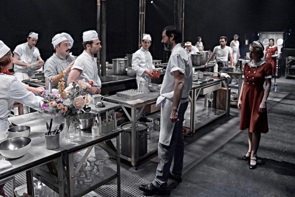 La cocina en el Teatro Valle Inclán.