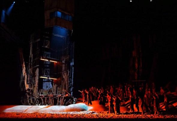 Un momento de 'El holandés errante' en el Teatro Real de Madrid. Foto: Javier del Real.