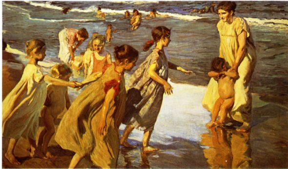 Joaquín Sorolla. Verano. 1904. Museo de Bellas Artes de La Habana.