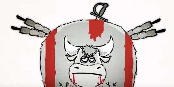El Toro Torito en el primer capítulo de Pésame Street.