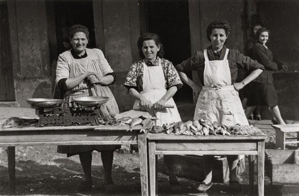 Pescaderas (1948). Copyright Museo del Pueblo de Asturias