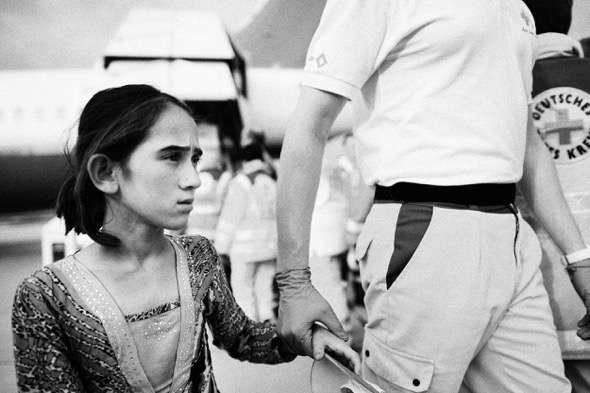 Fotografía de Toby Binder, tercer finalista del Premio Luis Valtueña de fotografía por su reportaje Los niños y niñas de Peace Village