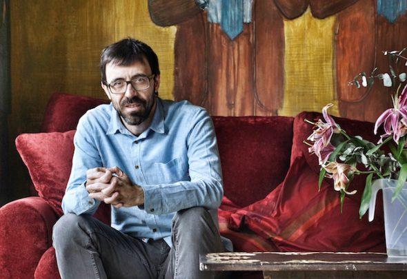El actor Israel Elejalde es Hamlet en El Pavón Teatro Kamikaze. Foto: M. C.