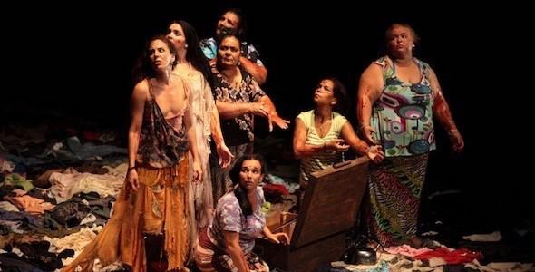 Fuenteovejuna en versión de Pepa Gamboa. Foto: Teatro Español.