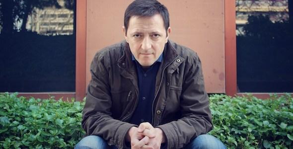 El escritor Ignacio Martínez de Pisón. Foto: Elena Blanco.