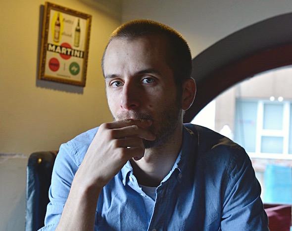 El cineasta Pablo Hernando.
