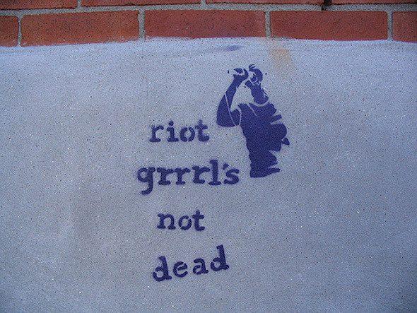 Riot Grrrl.