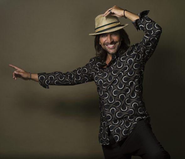 El músico Antonio Carmona. Foto: Javier Salas.