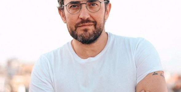 El escritor Maxim Huerta.