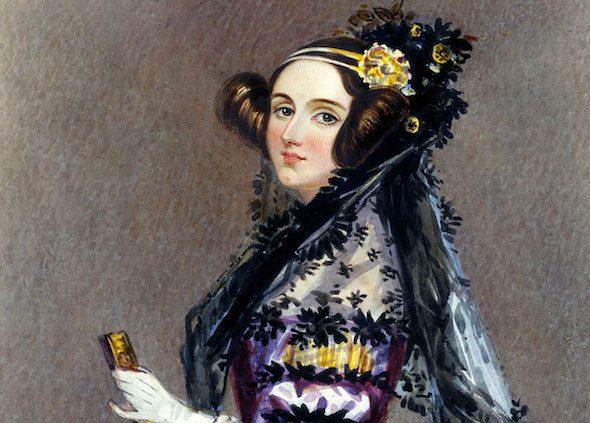 Retrato de Ada Lovelace.