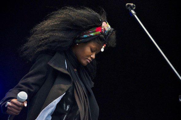 La cantante Fakeba.