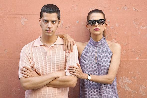 El director de 'Pieles', Eduardo Casanova y la actriz Macarena Gómez. Foto: Manuel Cuéllar.