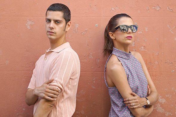 El actor y director, Eduardo Casanova, autor de 'Pieles' y la actriz Macarena Gómez. Foto: M. C.