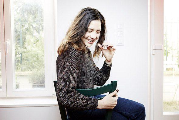 La escritora Line Papin.