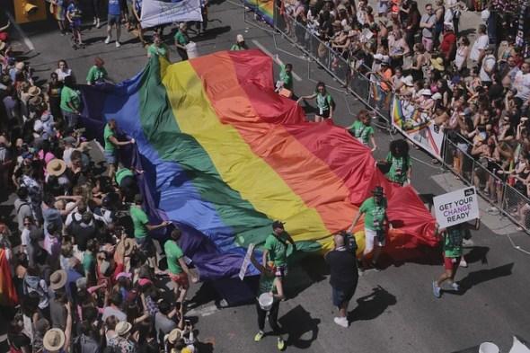 Una manifestación del orgullo gay. Foto: Pixabay.