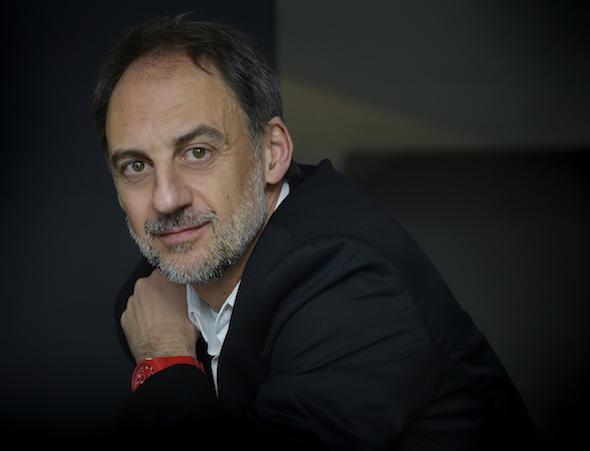 El escritor Antonio Orejudo. Foto: Iván Giménez.