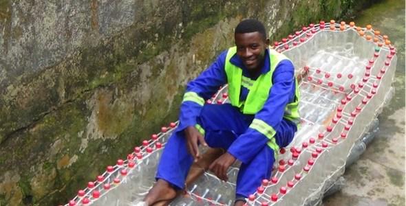 El camerunés Ismael Essome Ebone representante de la iniciativa Gri gri.