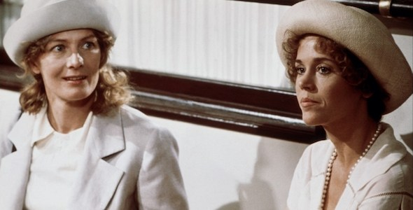 Vanessa Redgrave y Jane Fonda en una secuencia de 'Julia'