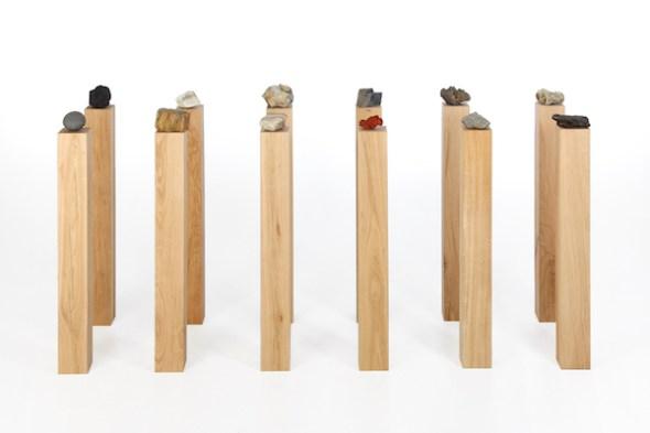 Herman de Vries. Die steine, 2017. Colección del artista. Fotografía: Bruno Schneyer.