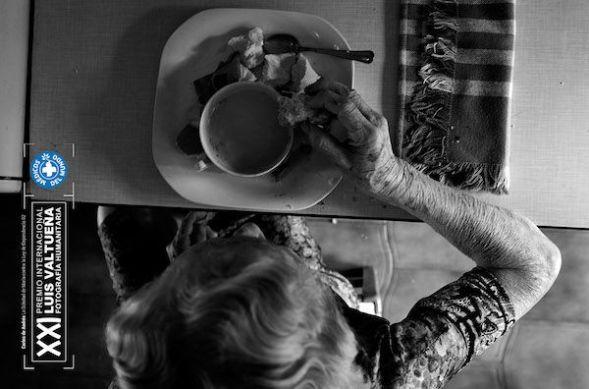 Carlos de Andrés. 'Desayuno en la cocina'.