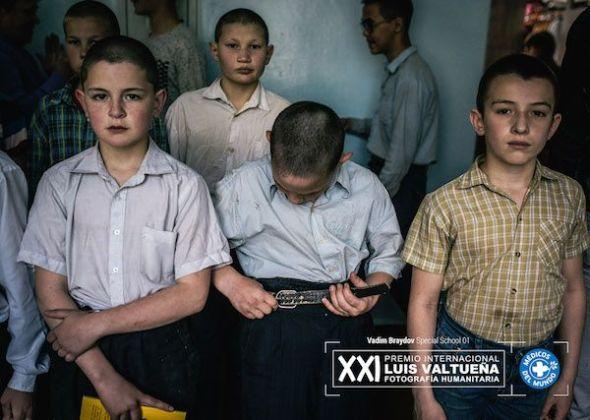 Vadim Braydov. Escuela especial. Los chicos pasan lista.