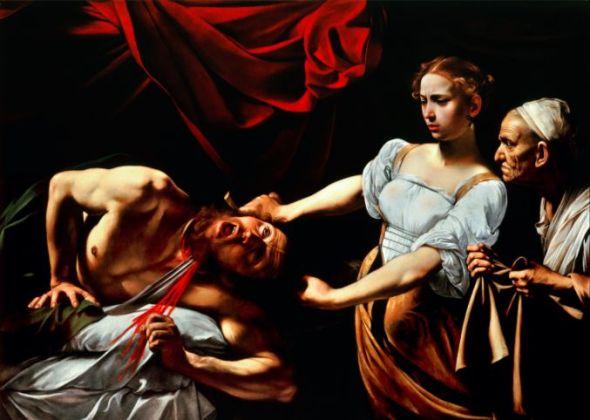 Judit y Holofernes de Caravaggio.