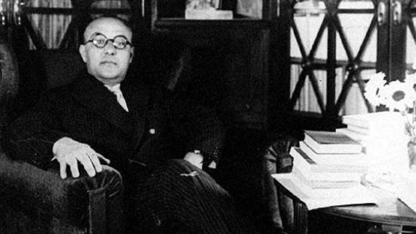 "Agustí Calvet Pascual alias ""Gaziel"" [Sant Feliu de Guíxols 1887 - Barcelona 1964] (Director de La Vanguardia 1920-1936). Foto: Hemeroteca de La Vanguardia."