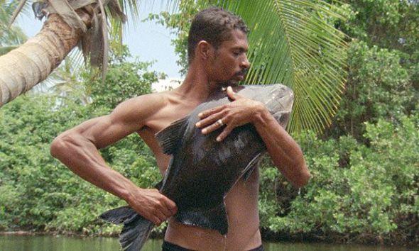 Fotograma de O peixe del brasileño Jonathas de Andrade