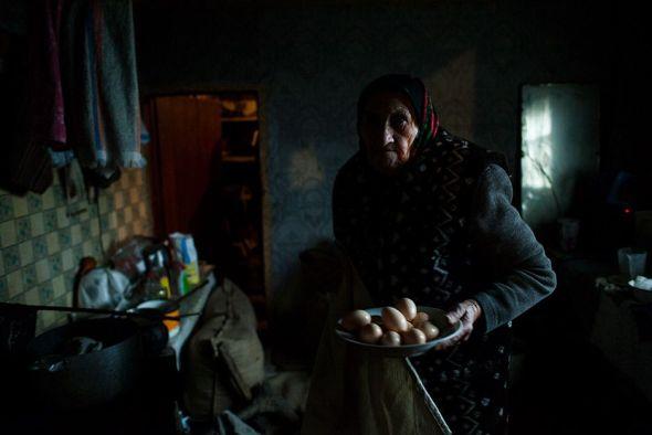 Parte del trabajo del fotógrafo Raúl Moreno 'Monólogo sobre Chernóbil'