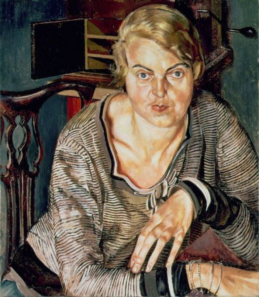 Stanley Spencer. Patricia Preece. Southampton City Art Gallery, Hampshire © The Estate of Stanley Spencer/Bridgeman Images.
