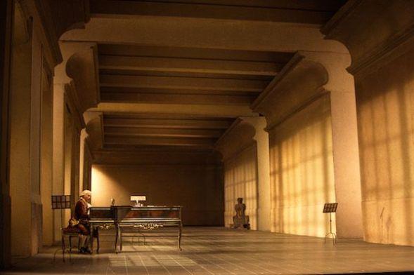La espectacular escenografía de 'Las bodas de Fígaro' de Mozart en la Scala de Milán.